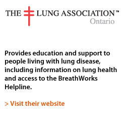 Ontario Lung Association Logo